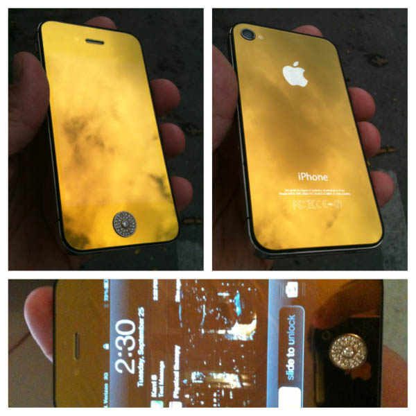 Smokey Yellow iPhone Custom Case Thumbnail