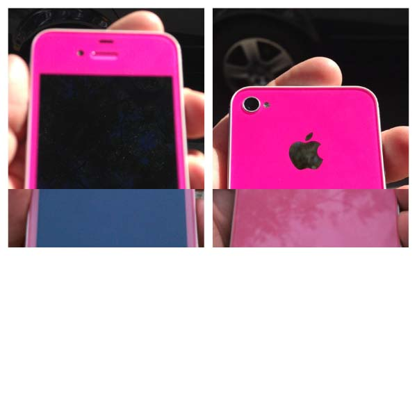 Hot Pink iPhone Custom Case