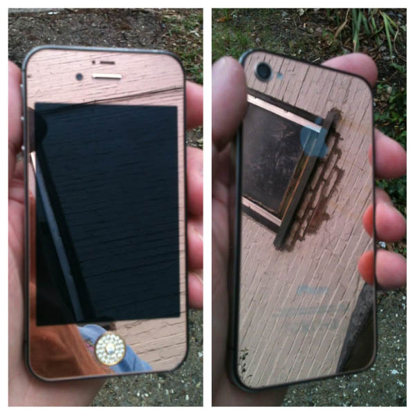 Wood Grain Custom iPhone Case