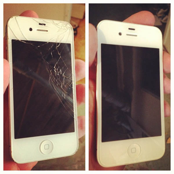 White IPhone Screen Repair